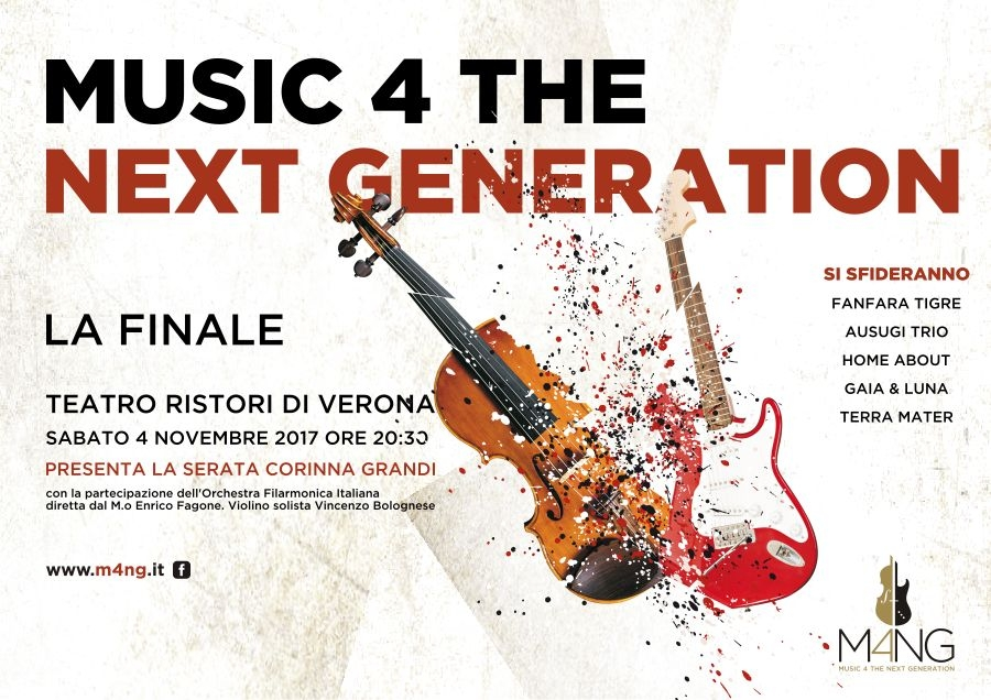 Music 4 the Next Generation: la Finale